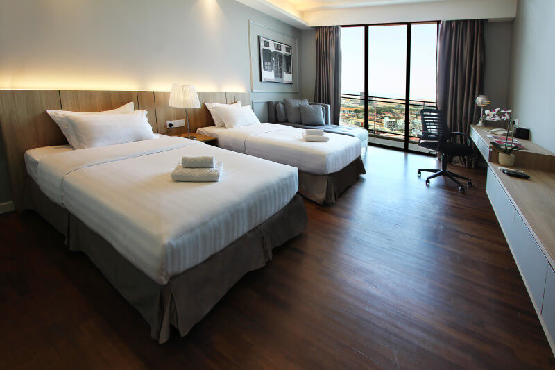The-Shore-Hotel-Residences-Studio-Suite-Twin-Bed